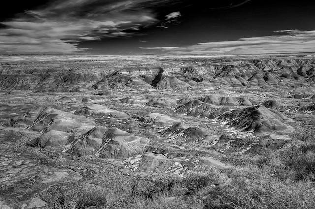 The Painted Desert in January, Arizona