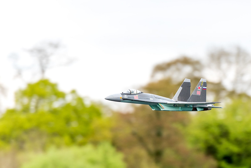 Phil flying his MIG.