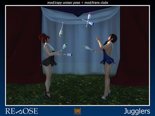 Jugglers for Cirque De Seraphim