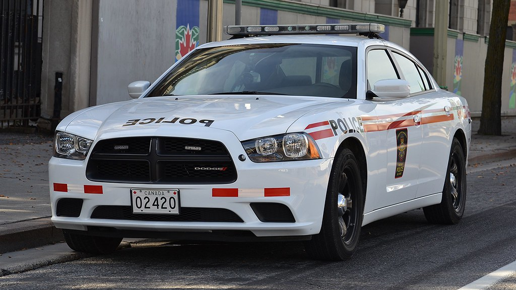 Canadian Military Police Dodge Charger Canadian