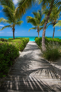 Pathway to Grace Bay Beach, Turks & Caicos | by CooperativeVerse
