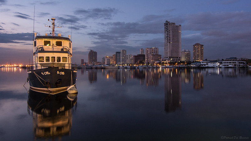 After sunset - Manila Bay