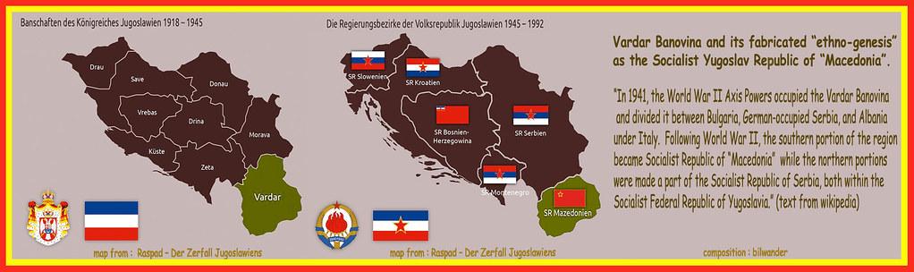"Vardar Banovina & FYROM's fabrigated ""ethnogenesis"" as the Socialist Yugoslav Republic of ""Macedonia"""