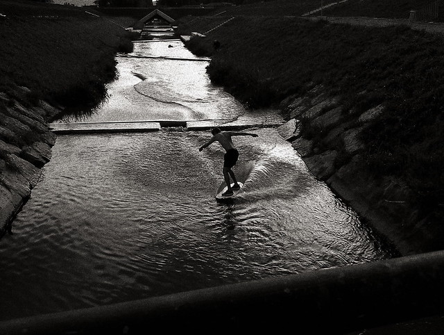 Alaia Surf in River