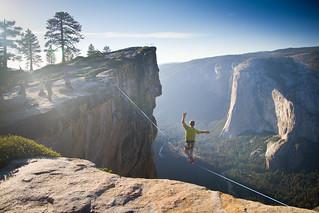 Yosemite Highlining | by Jeff Pang