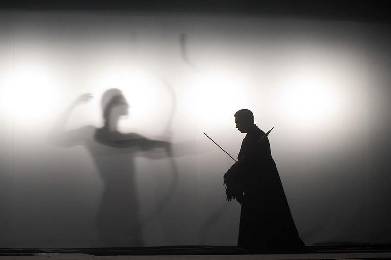 opera Rusalka, lighting by Daniel Tesař, photo by Petra Hajská