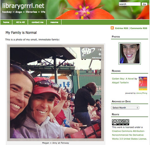 Blog - Meadowland Theme | by librarygrrrl