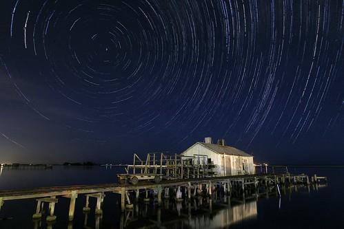 longexposure sky night stars nightscape nightsky startrails sebastianfl scenicsnotjustlandscapes kmprestonphotography starstax archiesmithwholesalefishhousehistoricallandmark 20141109153540mar2s3