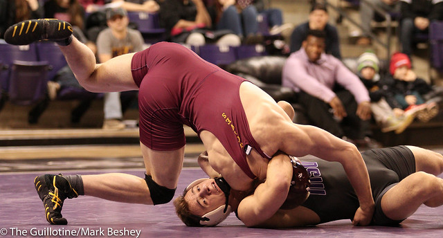 157: Dylan Herman (MSM) over Blake Perryman (NOST) (Fall 6:31)