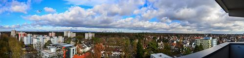 Panorama Westend und Neu-Isenburg