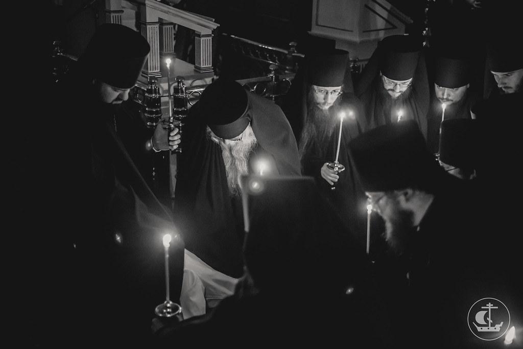 16 марта 2017, Монашеский постриг. Монахи Тихон и Агафангел / 16 March 2017, Monastic vows. Monks Tikhon & Agathangelos