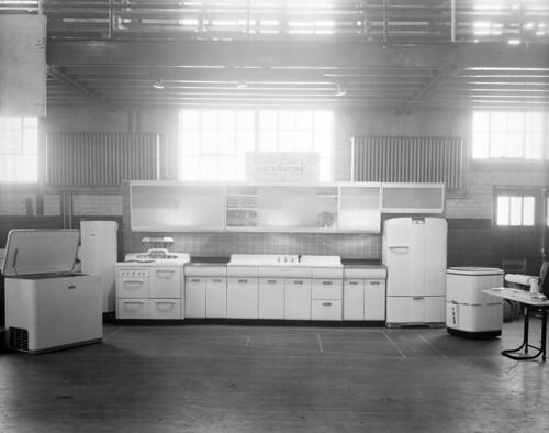 N_53_16_2216 Carolina Sales Corp Kitchen Display 1947   by State Archives of North Carolina