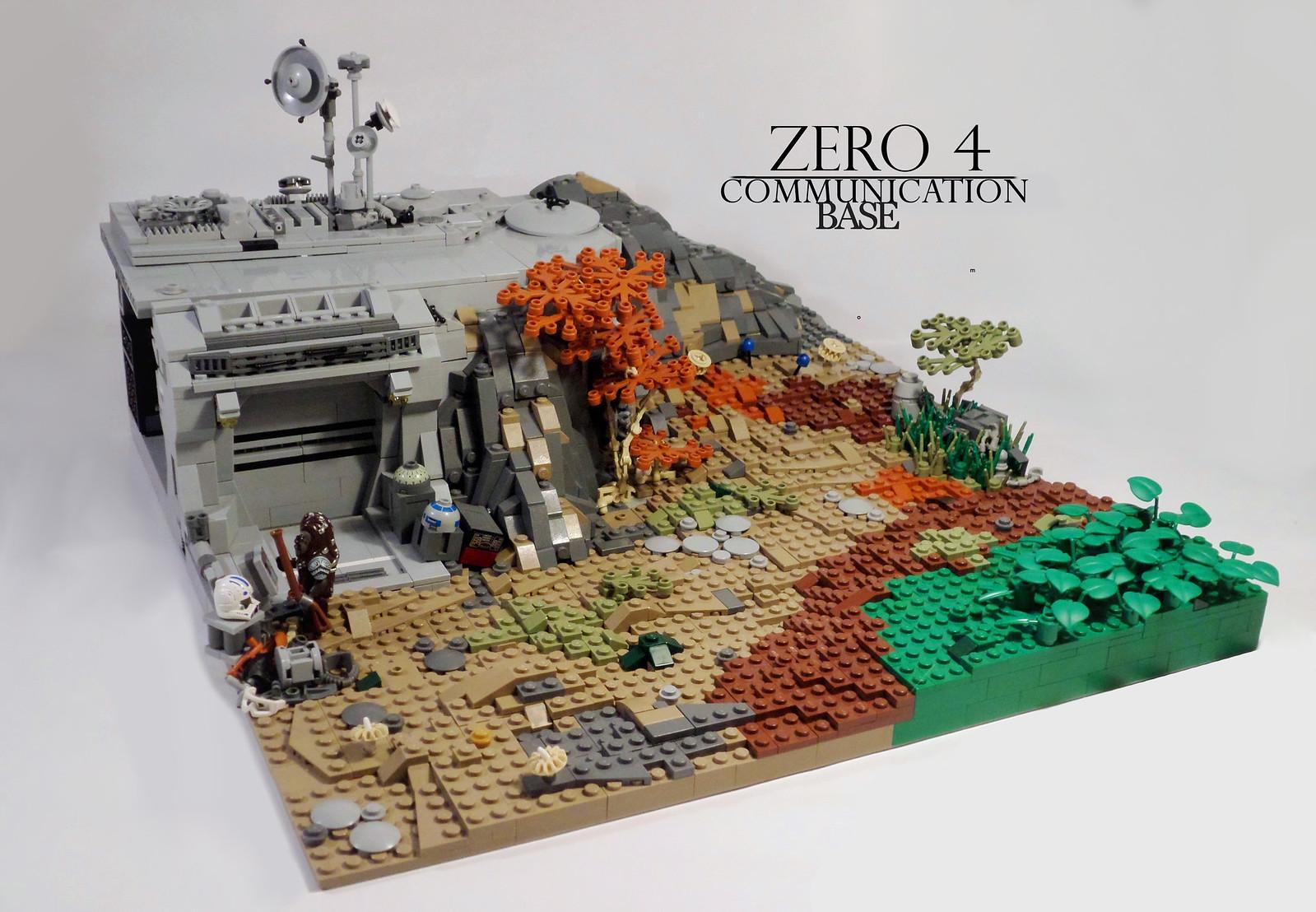 Corelian liberators 1.1 Comunation base Zero 4 (custom built Lego model)