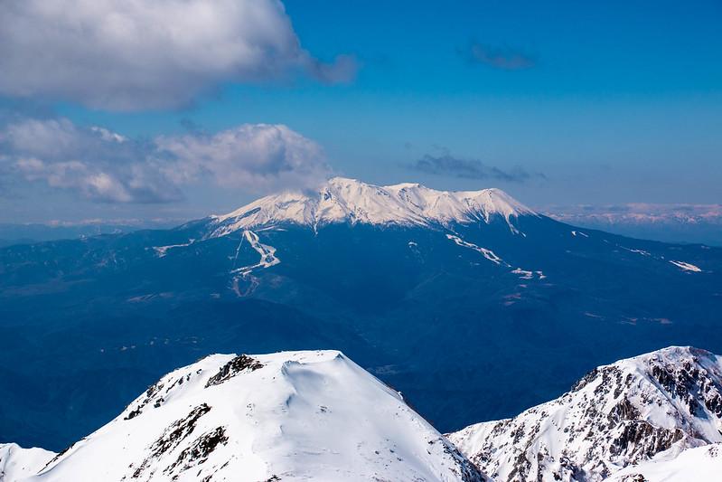 冬の御嶽山