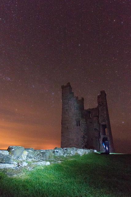 dunstanburgh castle stars