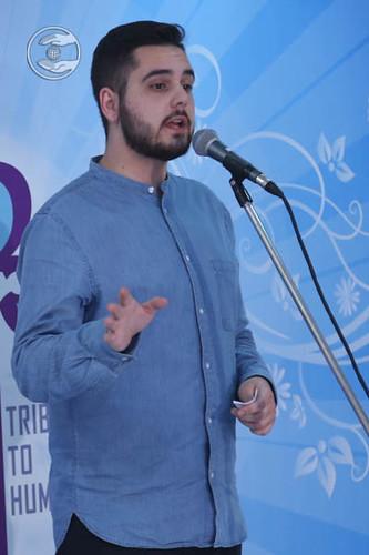 President SNM Poland, Jordan Bowen