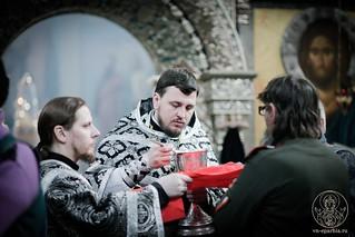 Литургия в Иверском монастыре 280