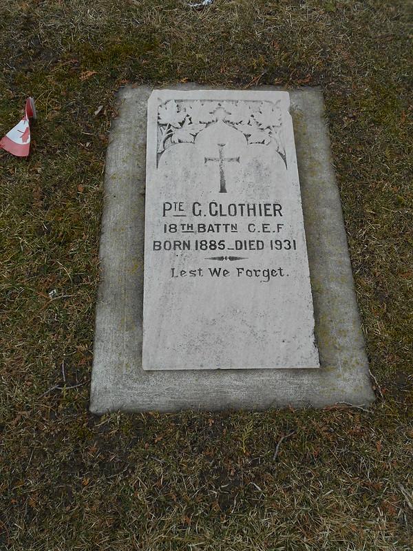 Pte C Clothier