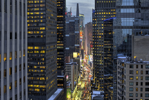 The Broadway Canyon to Times Square | by Tony Shi Photos
