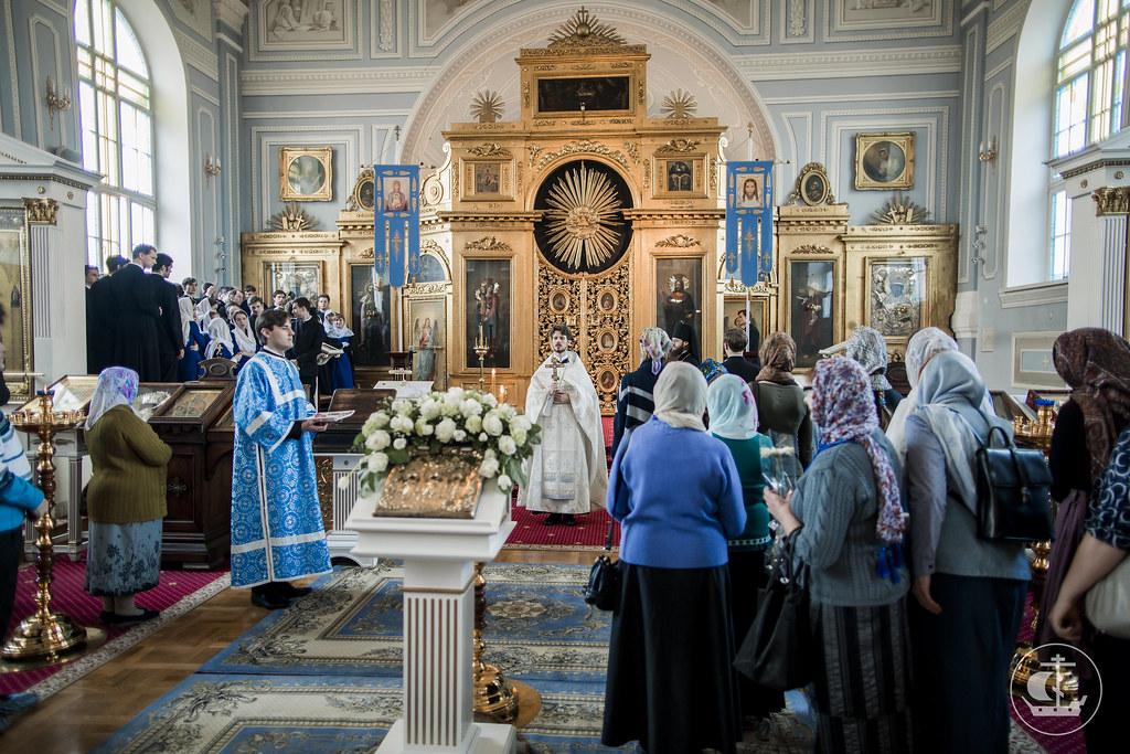 7 апреля 2017, Благовещение Пресвятой Богородицы / 7 April 2017, The Annunciation of the Theotokos