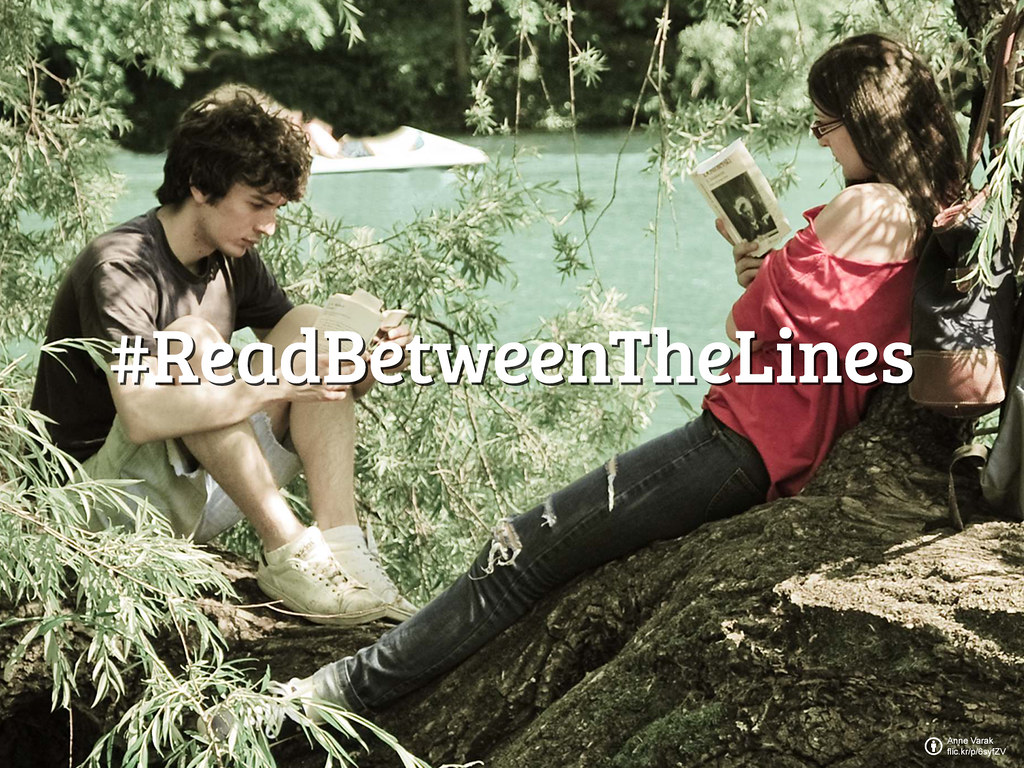 #FlickrFriday: Read Between the Lines   It's not that obvious, or it wouldn't be fun. This #FlickrFriday, let us #ReadBetweenTheLines