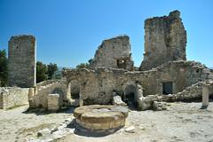 Monastery ruins near Le Thor,  France