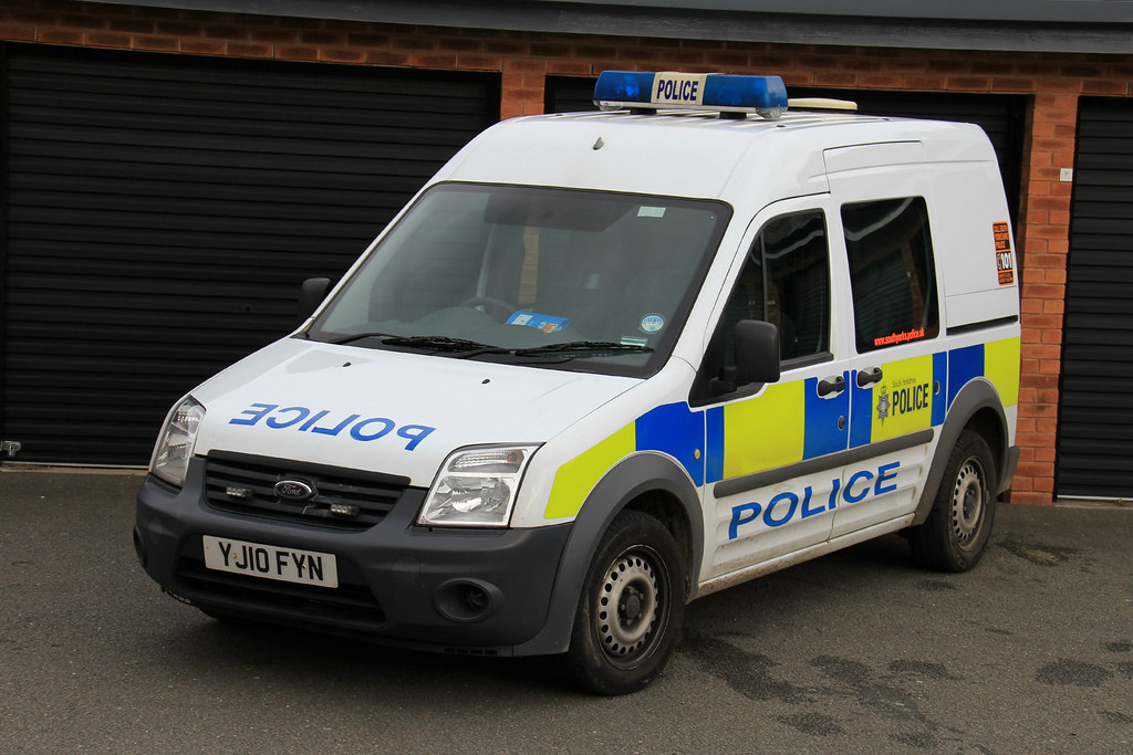South Yorkshire Police Ford Transit Connect Station Van Flickr
