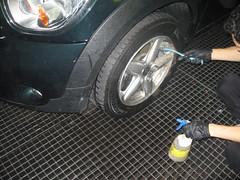 limpieza rueda mini