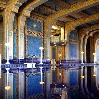 William Randolph Hearst's idea of a little pool in the backyard. At Hearst Castle, San Simeon (Big Sur) CA. #airstreamdc2cali #california #hearstcastle