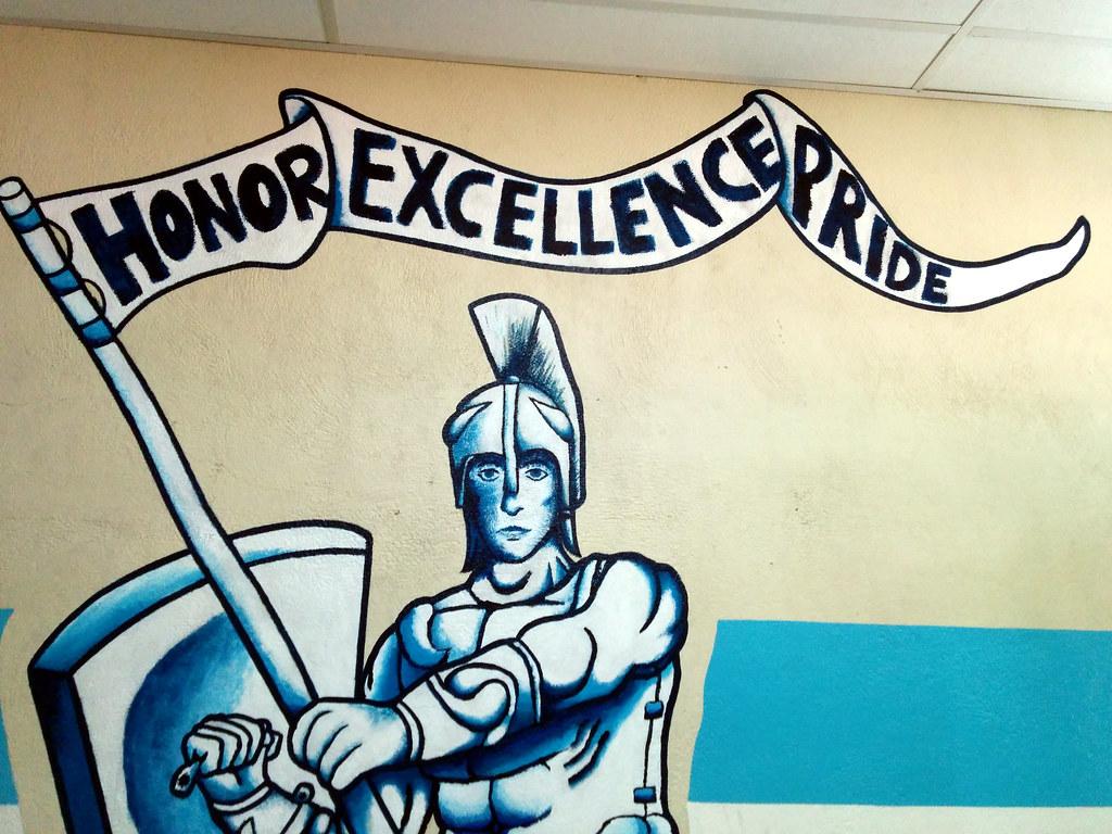 La School Mural