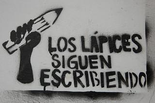 The Pencils Keep Writing - Tucumán, Argentina   by blueskylimit