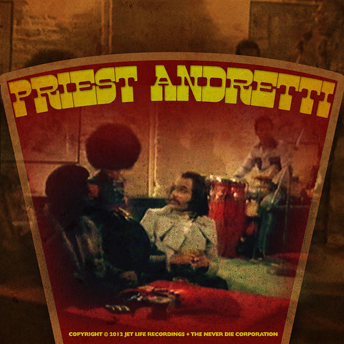 "Album Artwork - Curren$y ""Priest Andretti"" 