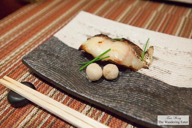 Fifth course - Yakimono