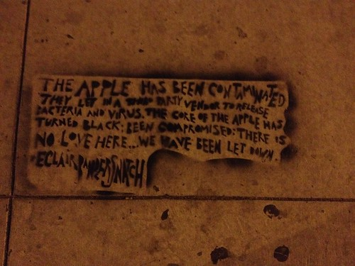 The Apple Has Been Contaminated | by Your Protagonist