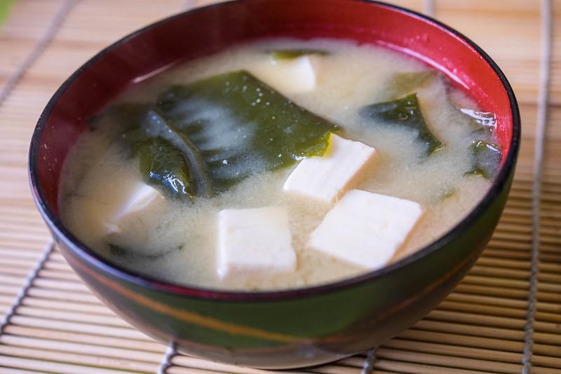 Sopa de miso (© Laura Tomàs)