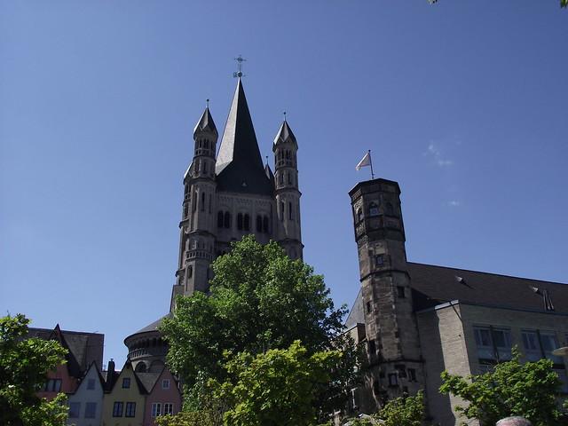 Köln - Groß St.Martin Kirche