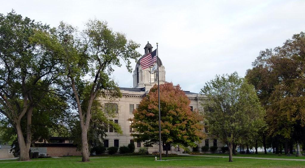 Brookings County Courthouse   Brookings, South Dakota 1912