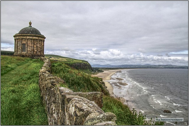 Mussenden Temple, Co Londonderry, Northern Ireland