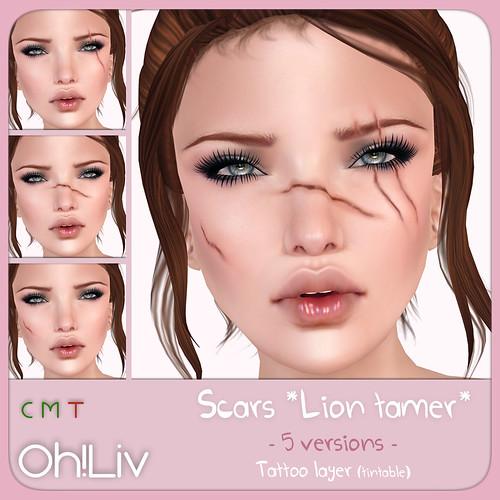 .Oh!Liv. Scars *Lion tamer*