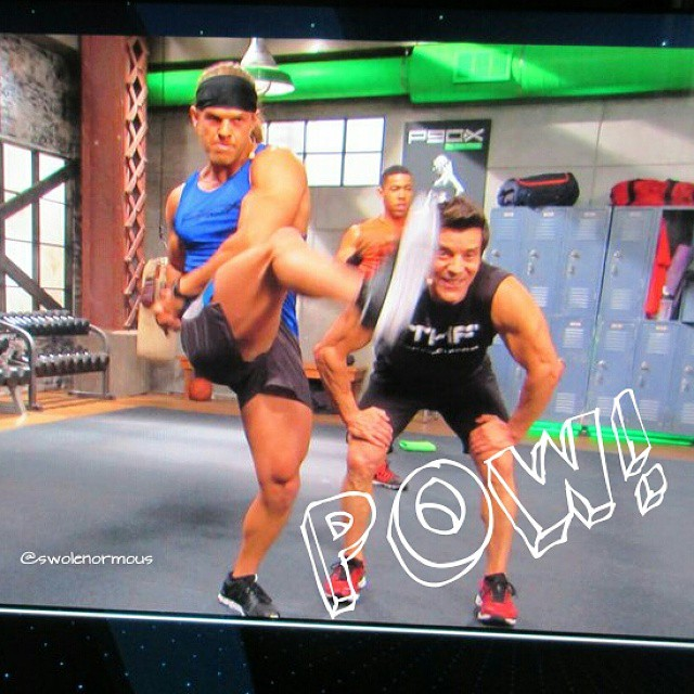 Kicking @tonyshorton in the face in P90X for Xbox One  Tot