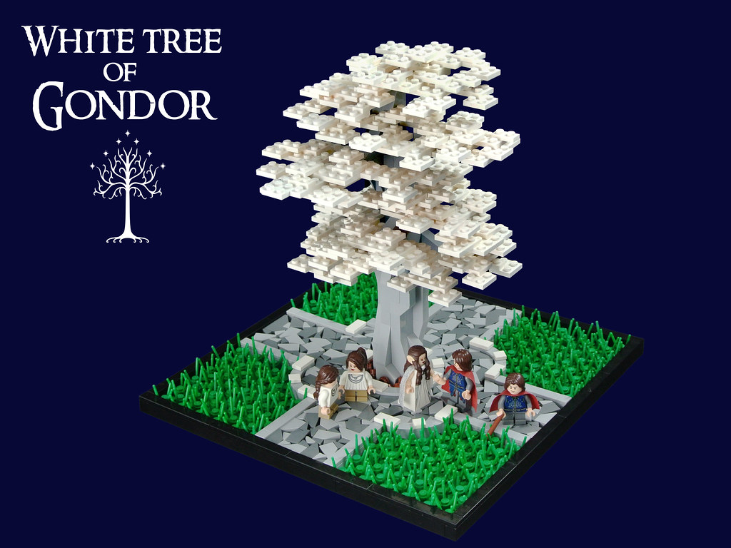 White Tree Of Gondor This Was Built For The Middleearth Co Flickr