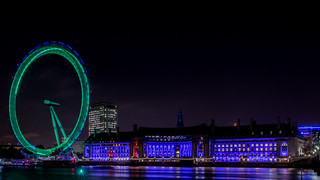 London Eye from South West - 2014-10-27 18:00 | by User:Colin