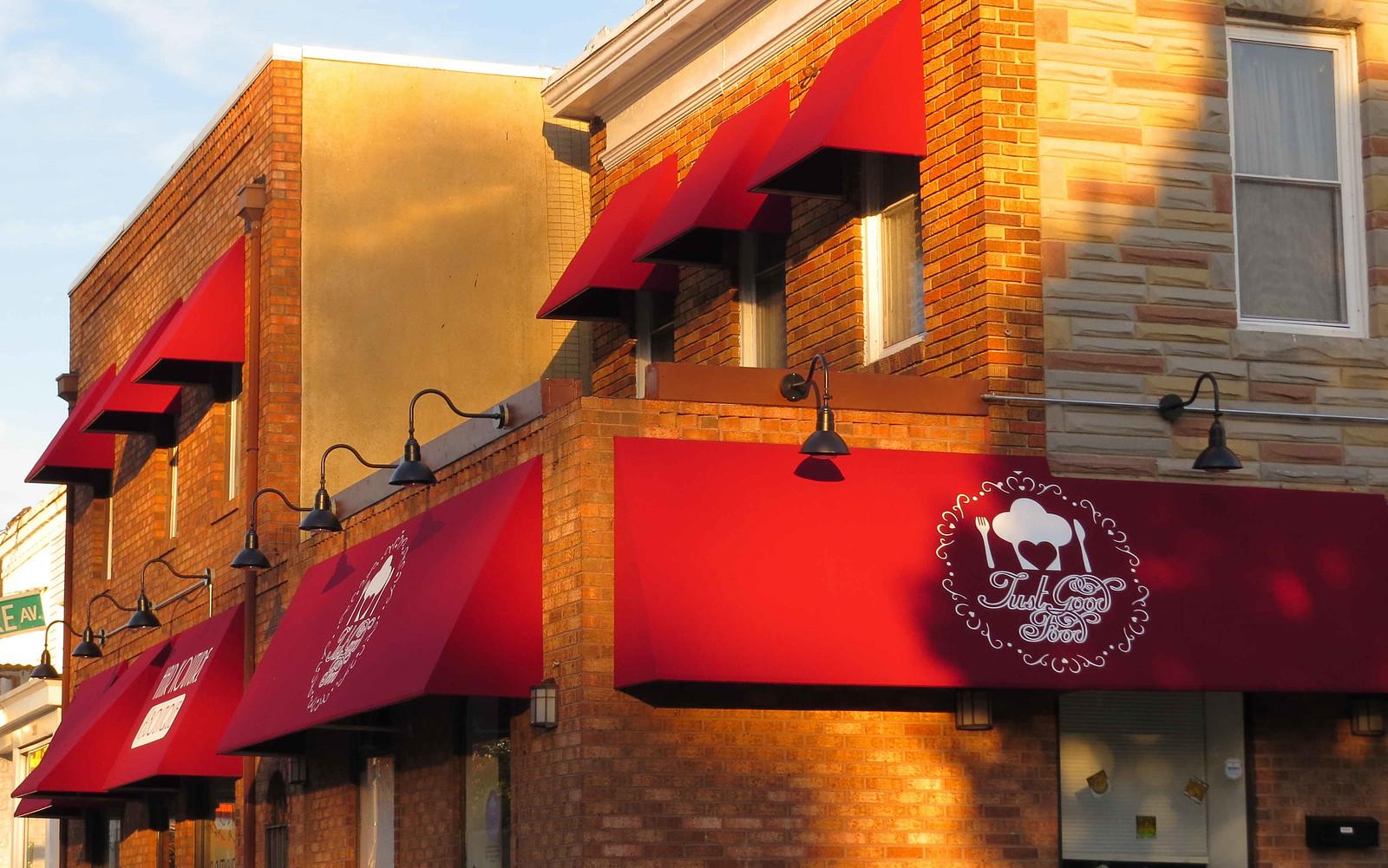 Restaurant Awnings and Logo Design Baltimore