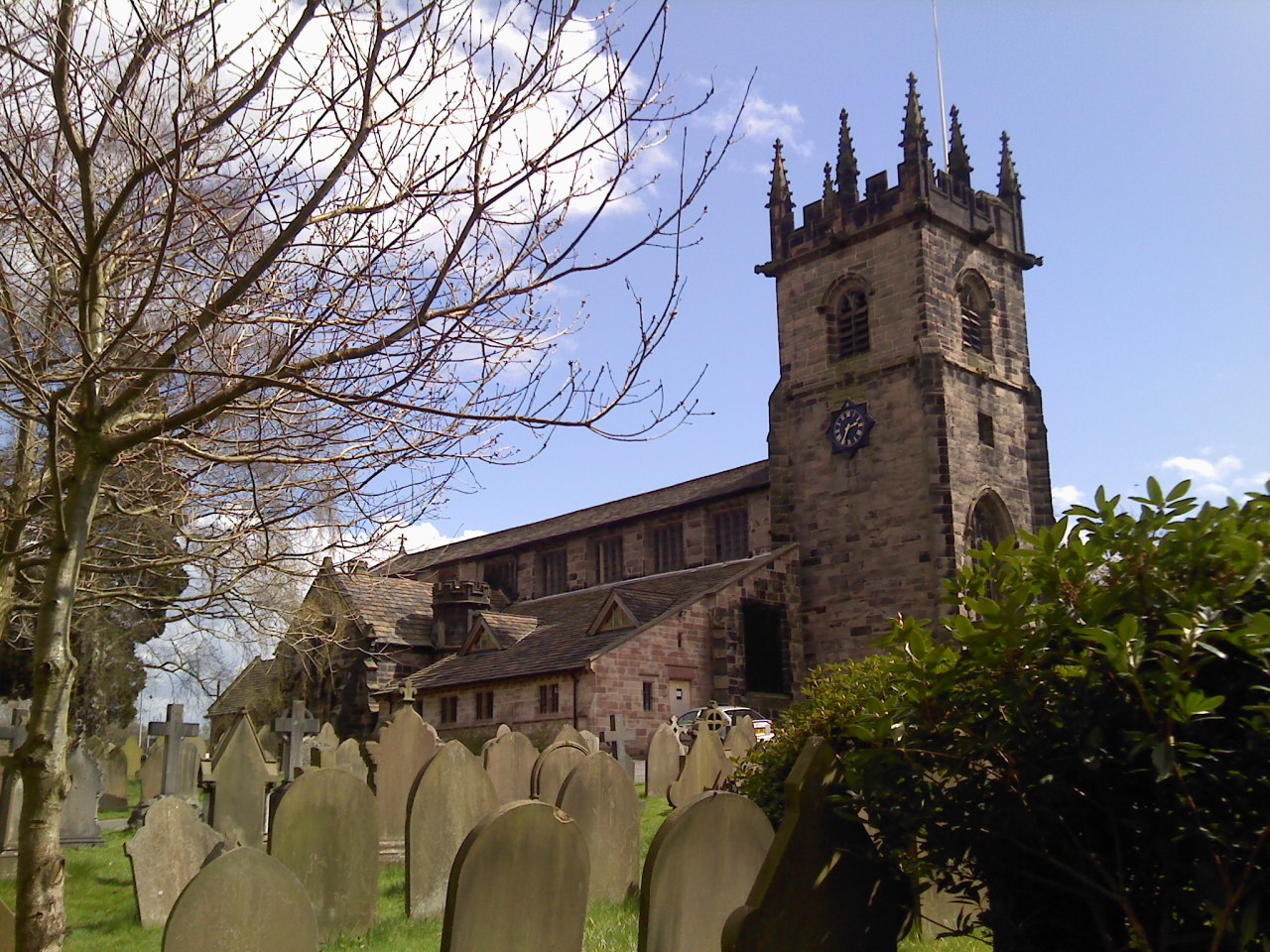 St Bartholomew's Church, Wilmslow, Cheshire