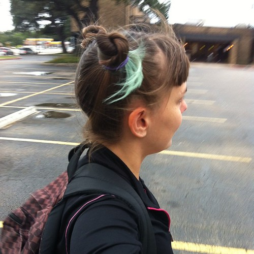 Pigtail buns today | by jessica mullen