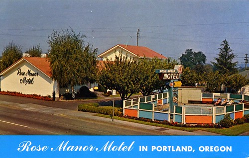 Rose Manor Motel Portland OR
