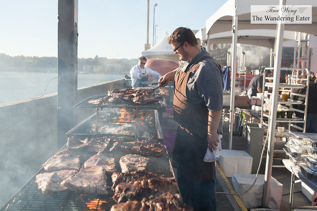 Chefs grilling up a storm