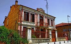 Greece, Macedonia, Florina,  eclectic architecture