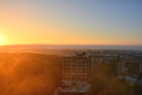 usa sunrise dawn nikon kansascity missouri morningfog morningglow stowersinstitute d7100 umkccampus sophiancondobuilding