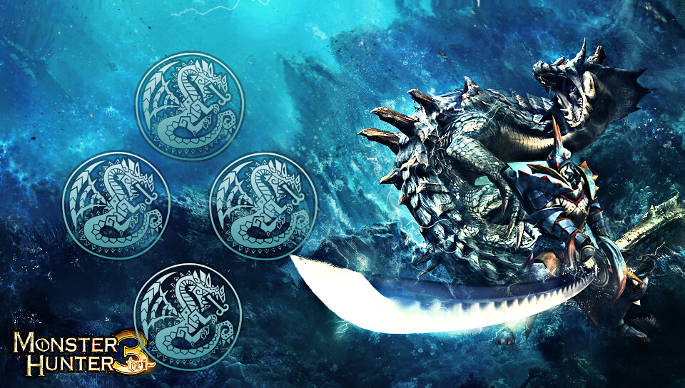 Lagiacrus Monster Hunter With Buttons Ps Vita Theme Claudio Jose Flickr